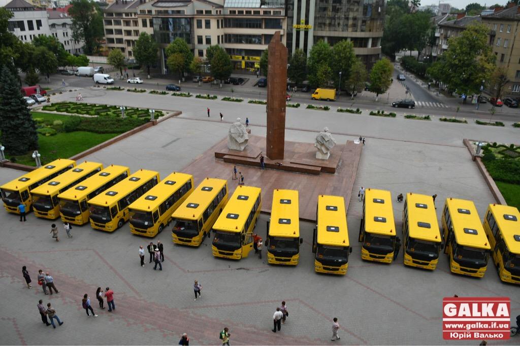 Райони та ОТГ Івано-Франківської області отримали нові шкільні автобуси. ФОТО, фото-7