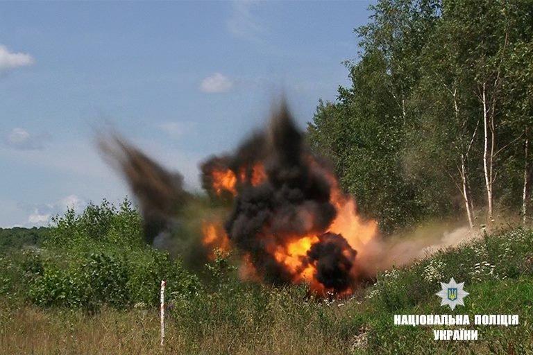 """На Прикарпатті підірвали боєприпаси, що """"поза законом"""". ФОТО, фото-2"""