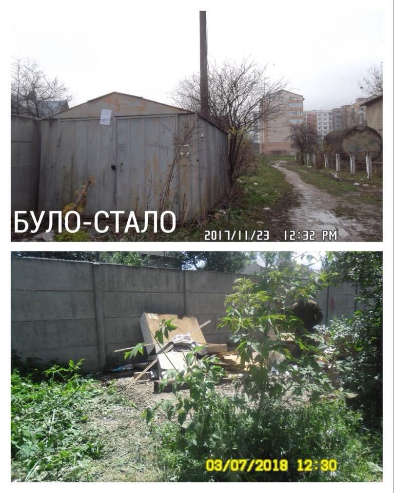 """Нелегальні реклами і гаражі. У Франківську демонтовують """"злочини проти благоустрою"""". ФОТО, фото-6"""