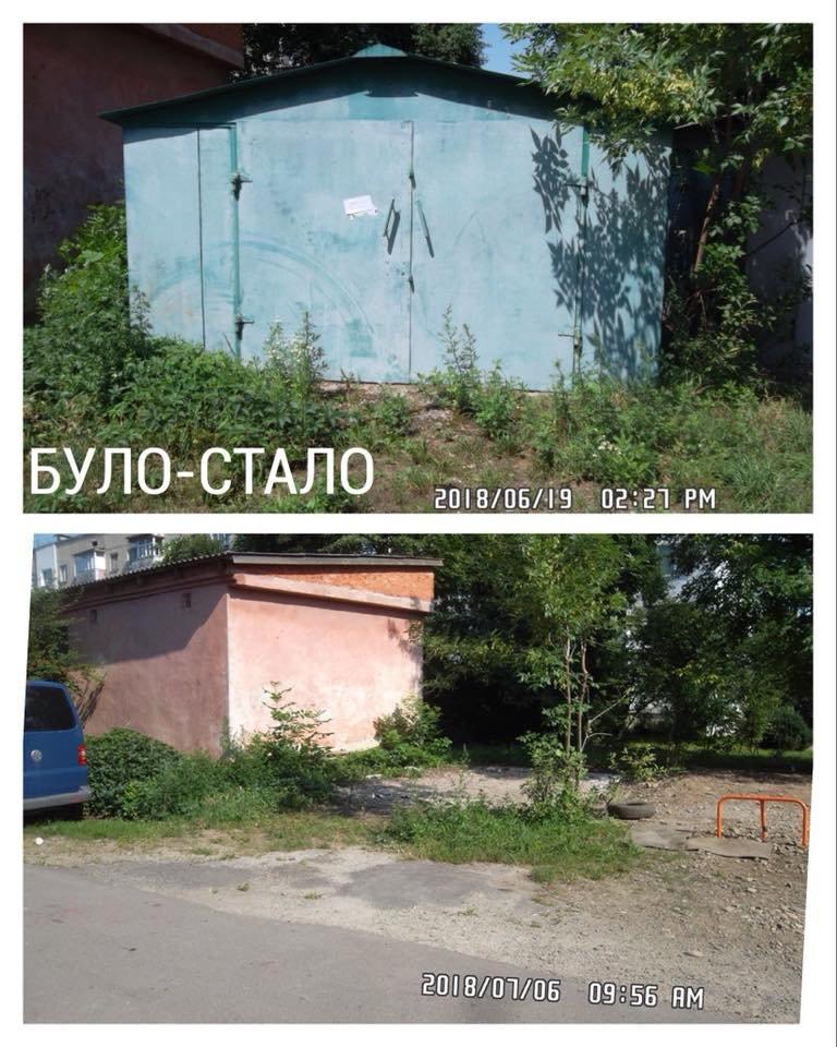 """Нелегальні реклами і гаражі. У Франківську демонтовують """"злочини проти благоустрою"""". ФОТО, фото-9"""