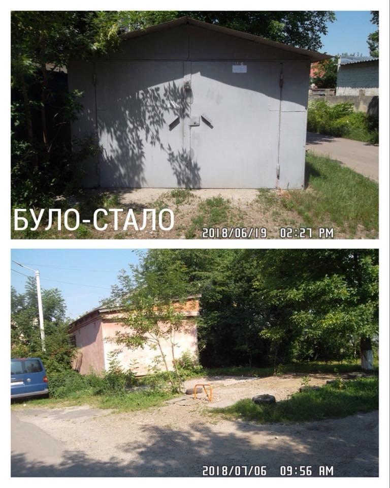 """Нелегальні реклами і гаражі. У Франківську демонтовують """"злочини проти благоустрою"""". ФОТО, фото-10"""