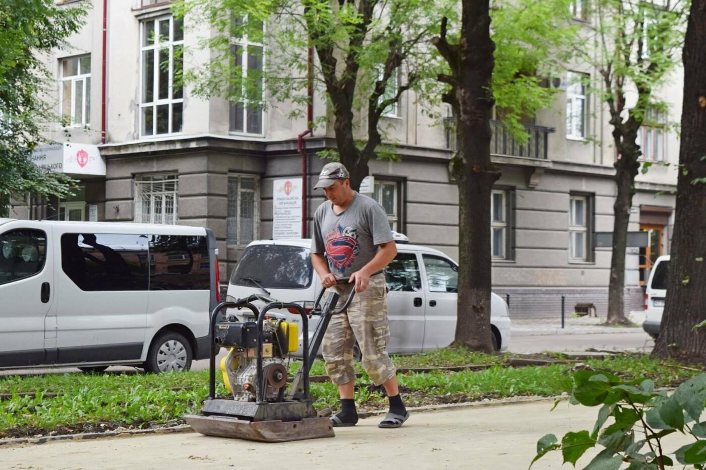 На Грюнвальдській реконструюють сквер. ФОТО, фото-2