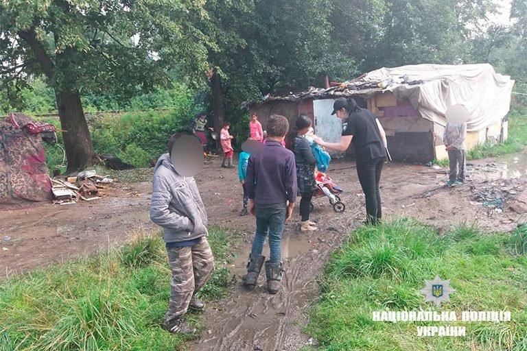Прикарпатська поліція - у таборі ромів. ФОТО, фото-1
