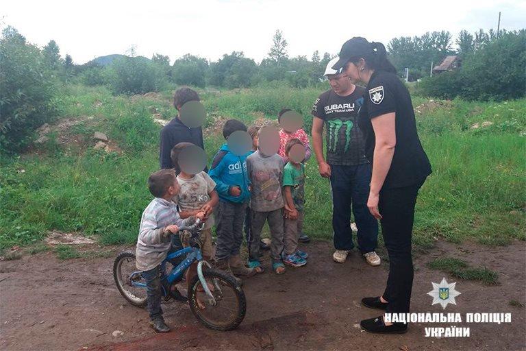 Прикарпатська поліція - у таборі ромів. ФОТО, фото-4