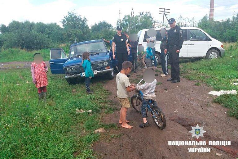 Прикарпатська поліція - у таборі ромів. ФОТО, фото-5