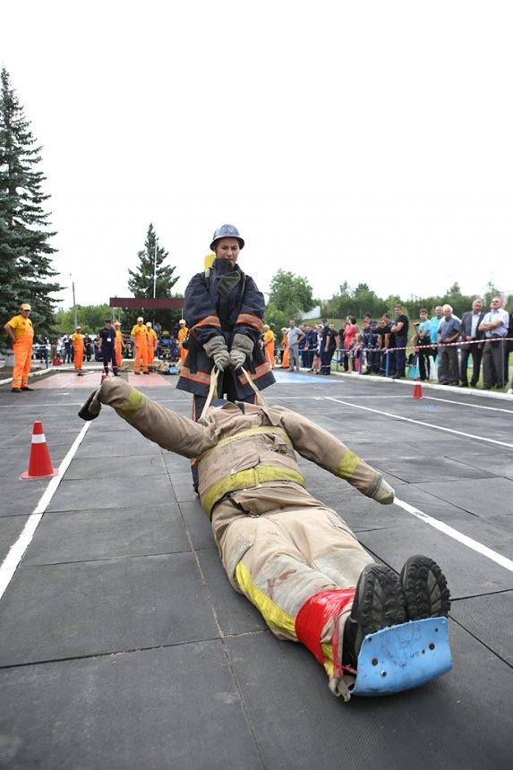На Прикарпатті визначили найкращого пожежного-рятувальника. ФОТО , фото-2