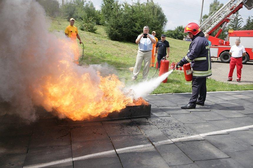 На Прикарпатті визначили найкращого пожежного-рятувальника. ФОТО , фото-7