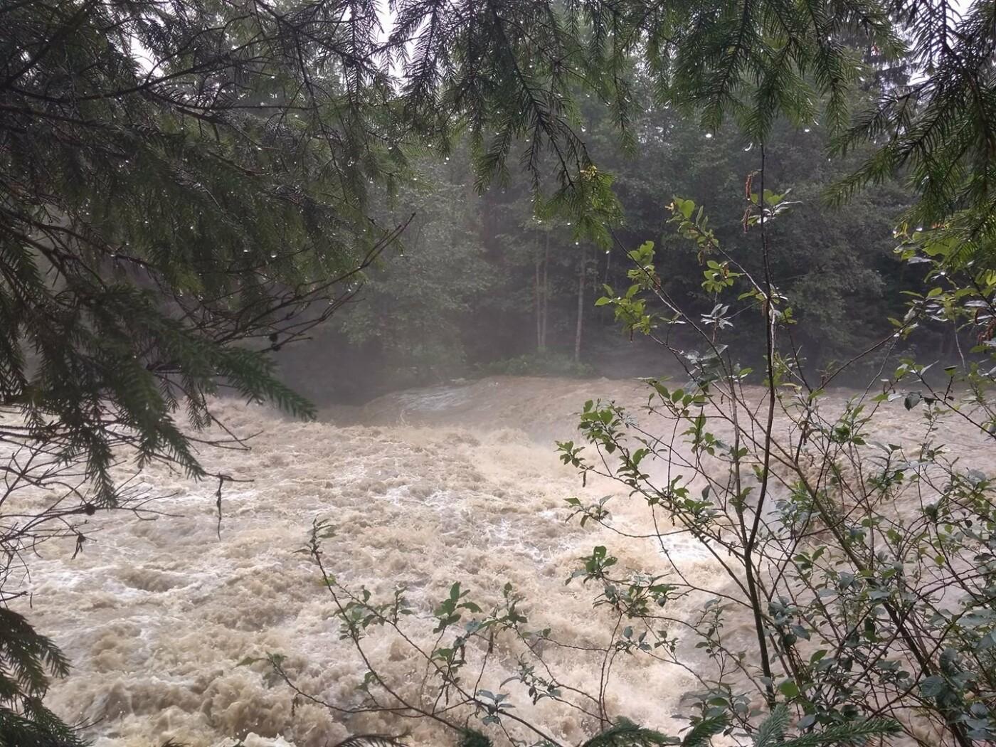 Велика вода вчорашнього дня на Прикарпатті. ФОТО, фото-5