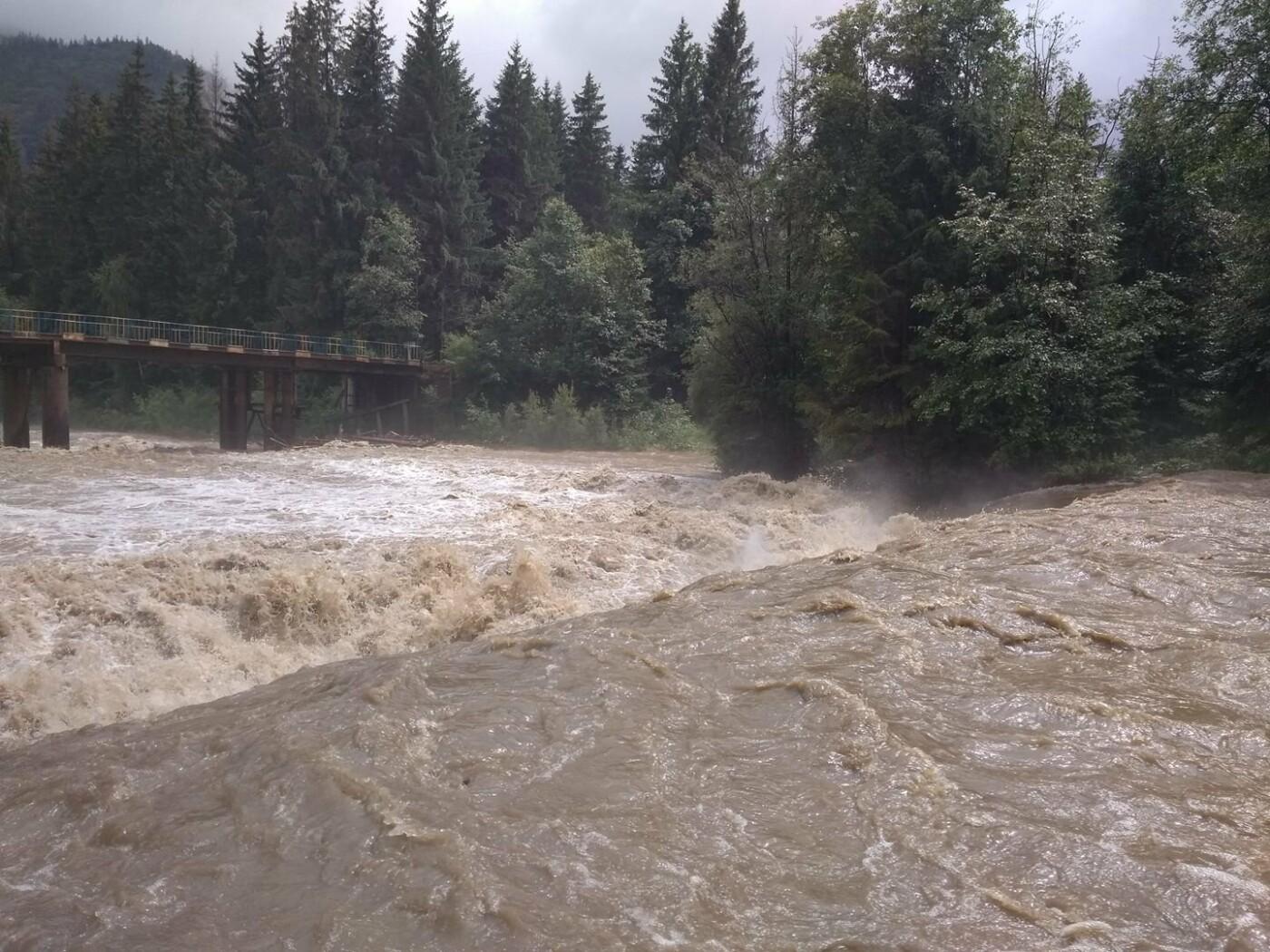Велика вода вчорашнього дня на Прикарпатті. ФОТО, фото-4