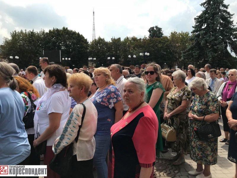 Молитва і свячена вода у Франківську - на День Хрещення Русі-України. ФОТО, фото-2