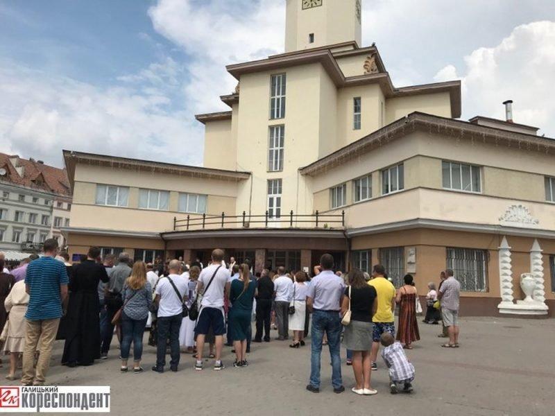 Молитва і свячена вода у Франківську - на День Хрещення Русі-України. ФОТО, фото-4
