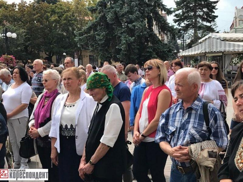 Молитва і свячена вода у Франківську - на День Хрещення Русі-України. ФОТО, фото-6