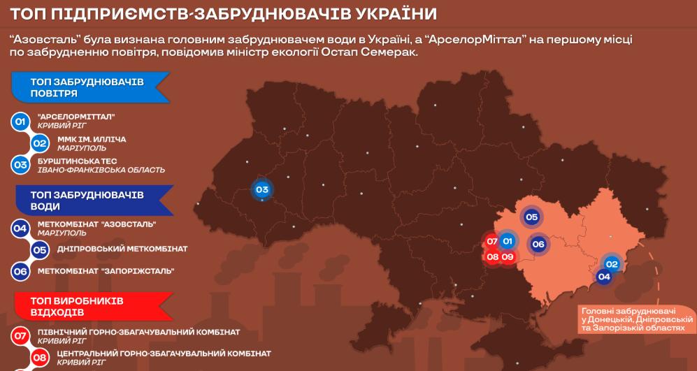 Бурштинська ТЕС - у трійці найбільших забруднювачів повітря України. ІНФОГРАФІКА, фото-1