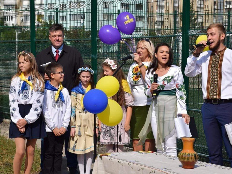 В школі №15 Івано-Франківська зробили новий спортивний майданчик. ФОТО, фото-5