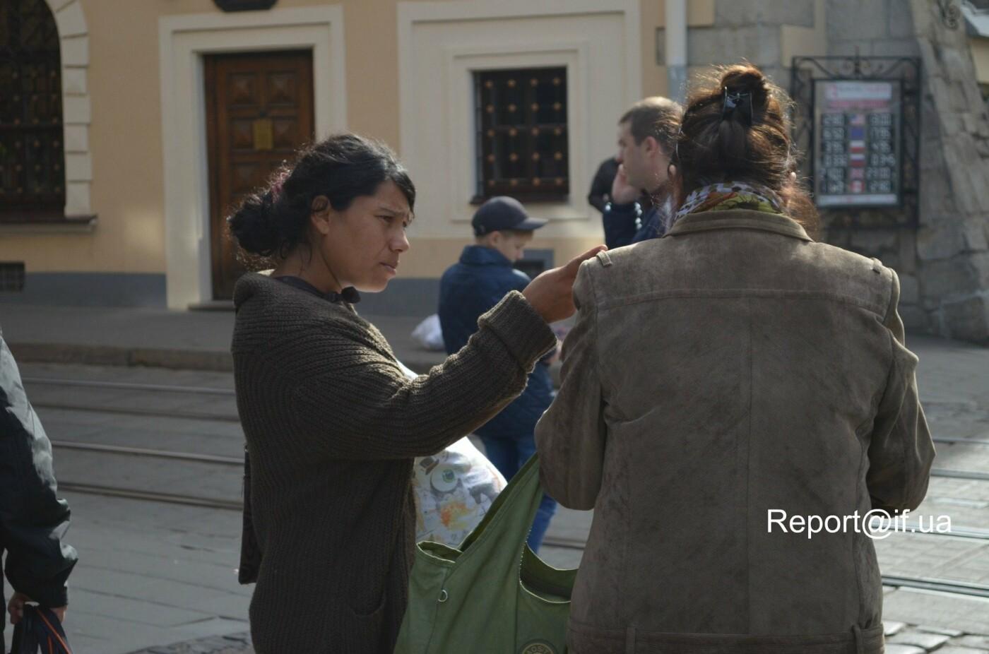 Жебраки та роми, чому влада не може викорінити проблему жебракування в місті. ФОТО, фото-4