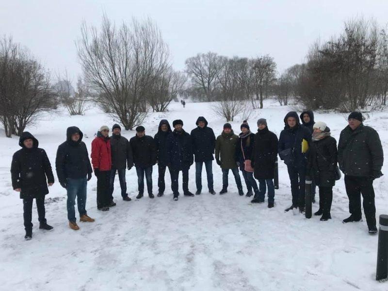 Руслан Марцінків працював на Різдво, -  блокував забудову озера. ФОТО, фото-7