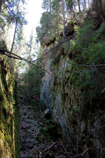 Скельно-печерний комплекс на Синицях – святилище Довбушеві Комори, фото-1
