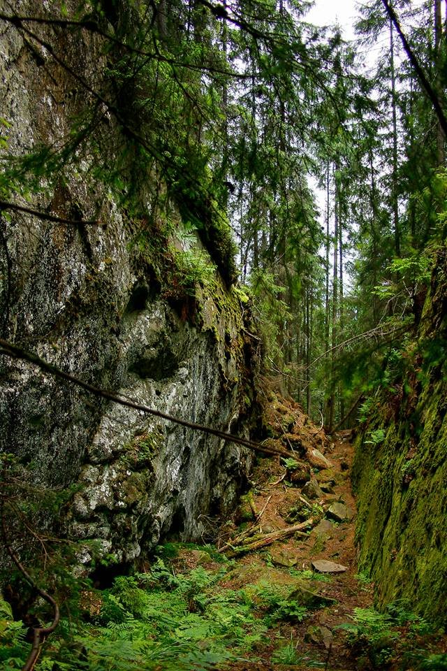 Скельно-печерний комплекс на Синицях – святилище Довбушеві Комори, фото-2