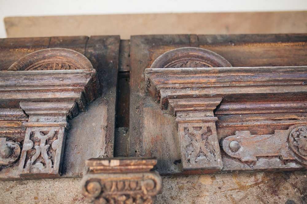 Різьблені двері в старих будинках — те, що варто берегти, фото-10