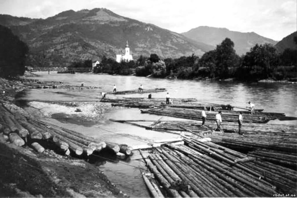 Перші каскадери. Як сплавляли ліс гуцули 100 років тому (ВІДЕО), фото-9