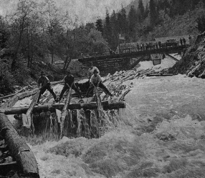 Перші каскадери. Як сплавляли ліс гуцули 100 років тому (ВІДЕО), фото-4