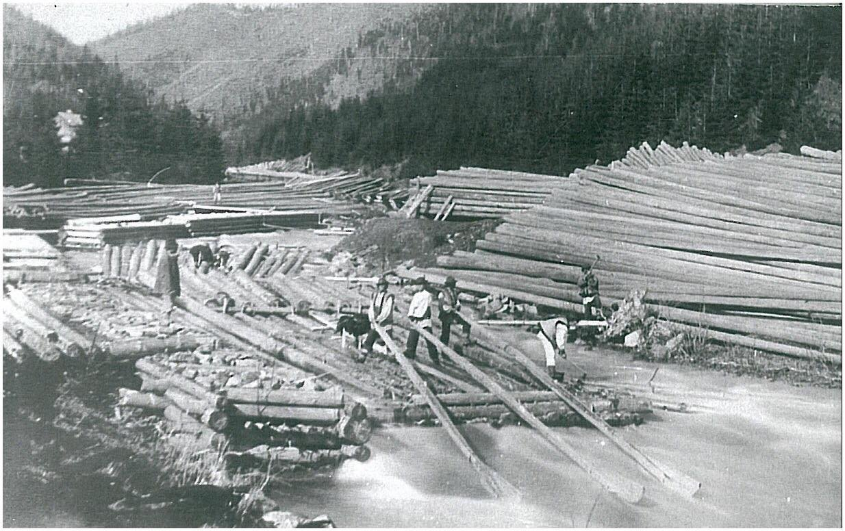 Перші каскадери. Як сплавляли ліс гуцули 100 років тому (ВІДЕО), фото-6