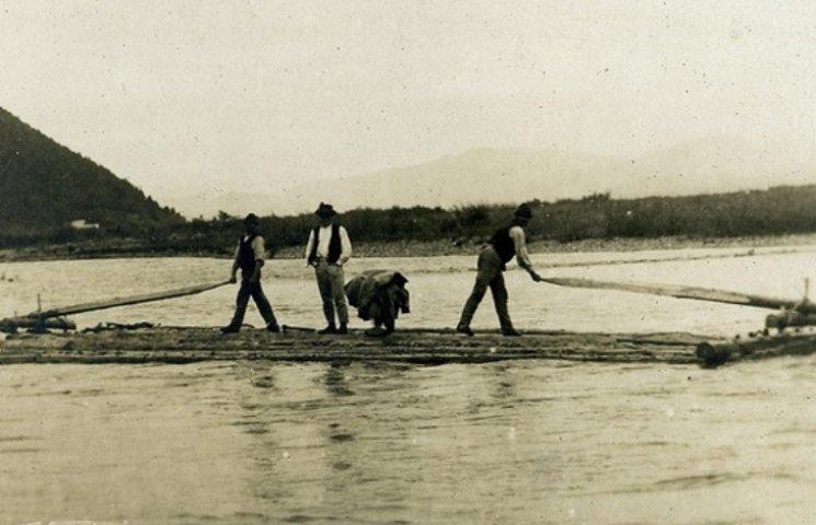 Перші каскадери. Як сплавляли ліс гуцули 100 років тому (ВІДЕО), фото-8