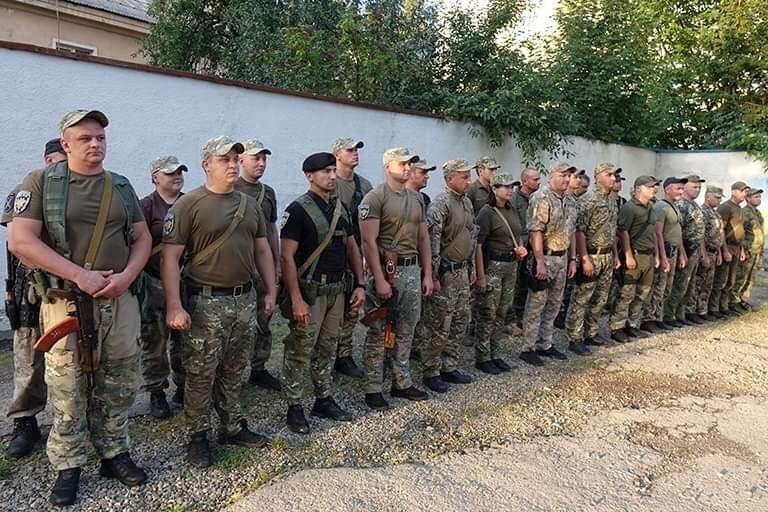 Прикарпатські поліціянти повернулися з зони проведення ООС (ФОТО), фото-1