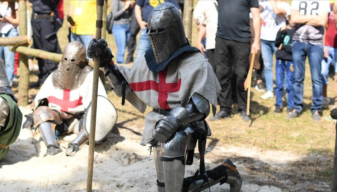 """Лицарські бої, мотопробіг, повітряна куля: фестиваль """"Галицьке лицарство"""" на Прикарпатті (фото, відео), фото-26"""