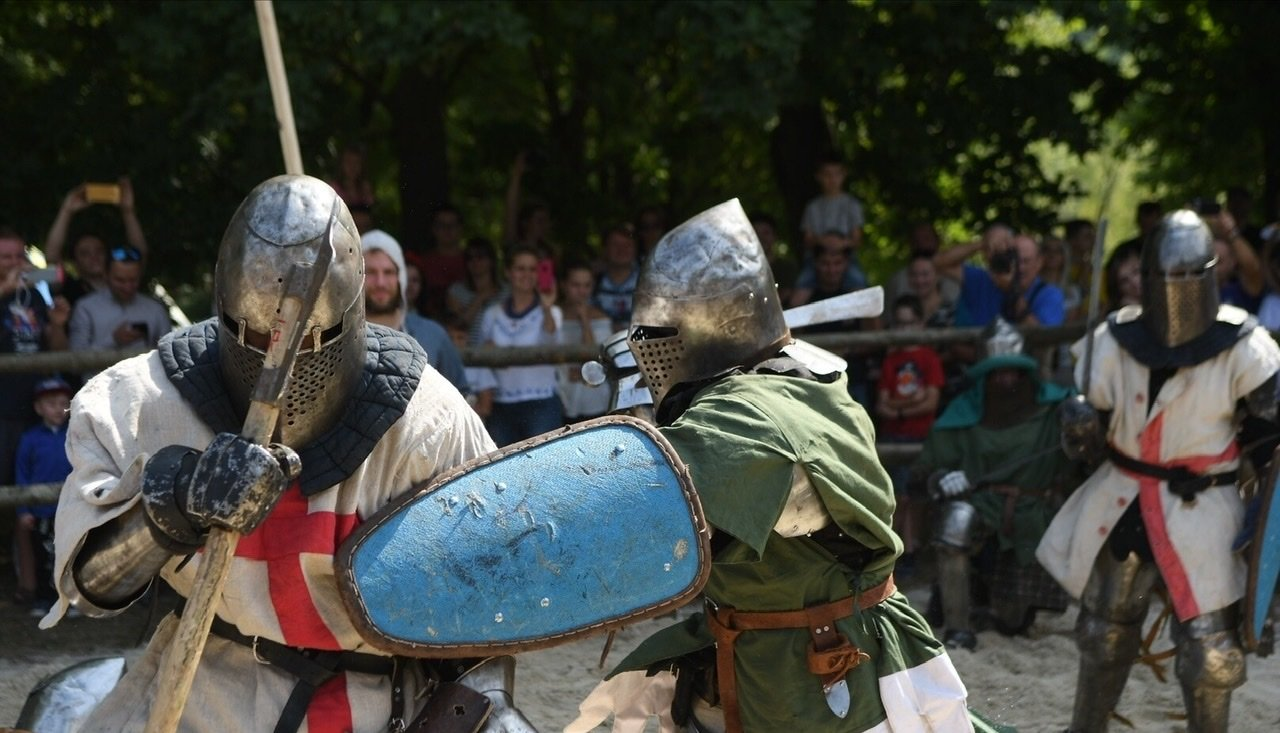 """Лицарські бої, мотопробіг, повітряна куля: фестиваль """"Галицьке лицарство"""" на Прикарпатті (фото, відео), фото-28"""