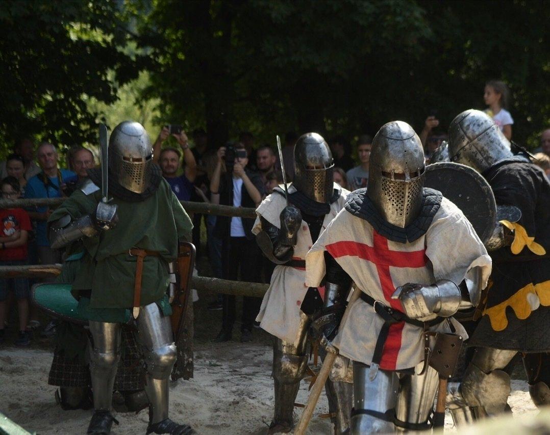 """Лицарські бої, мотопробіг, повітряна куля: фестиваль """"Галицьке лицарство"""" на Прикарпатті (фото, відео), фото-29"""