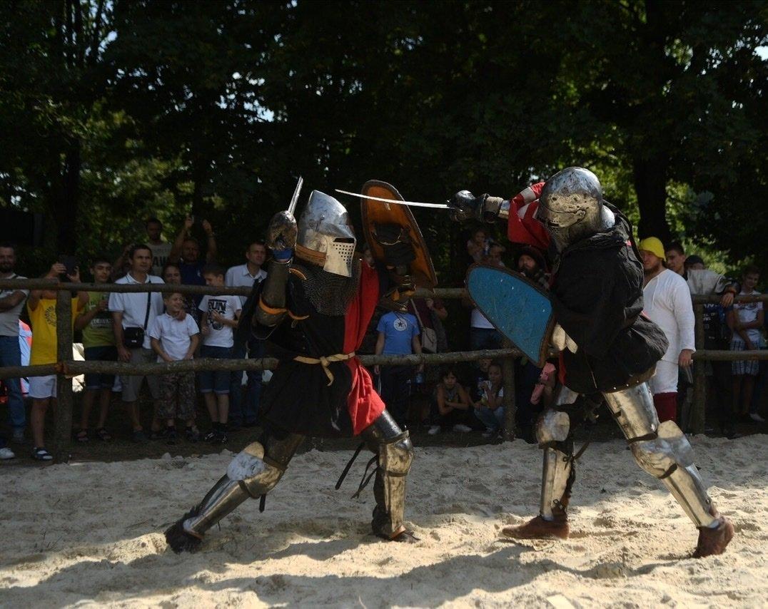 """Лицарські бої, мотопробіг, повітряна куля: фестиваль """"Галицьке лицарство"""" на Прикарпатті (фото, відео), фото-35"""