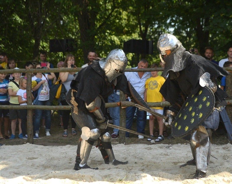 """Лицарські бої, мотопробіг, повітряна куля: фестиваль """"Галицьке лицарство"""" на Прикарпатті (фото, відео), фото-34"""