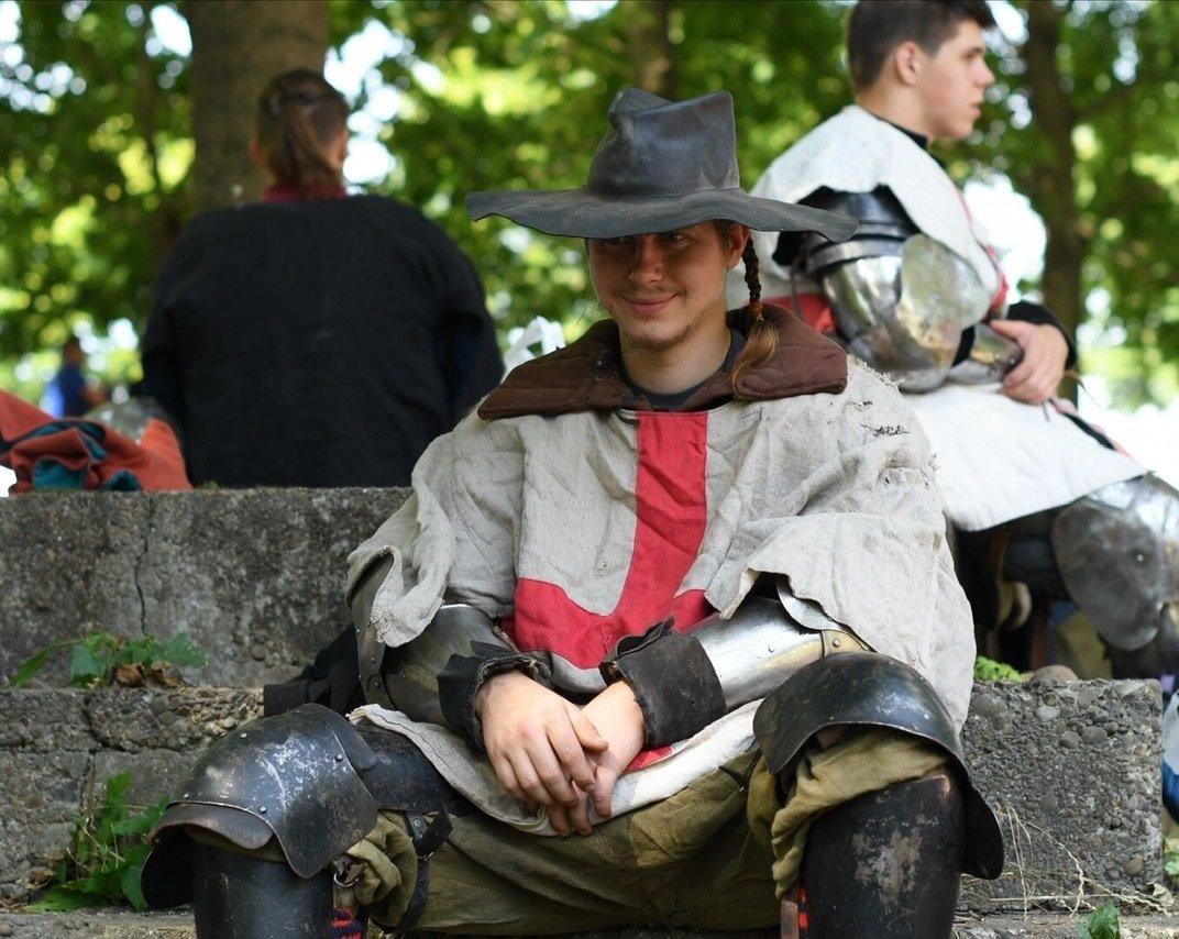 """Лицарські бої, мотопробіг, повітряна куля: фестиваль """"Галицьке лицарство"""" на Прикарпатті (фото, відео), фото-15"""