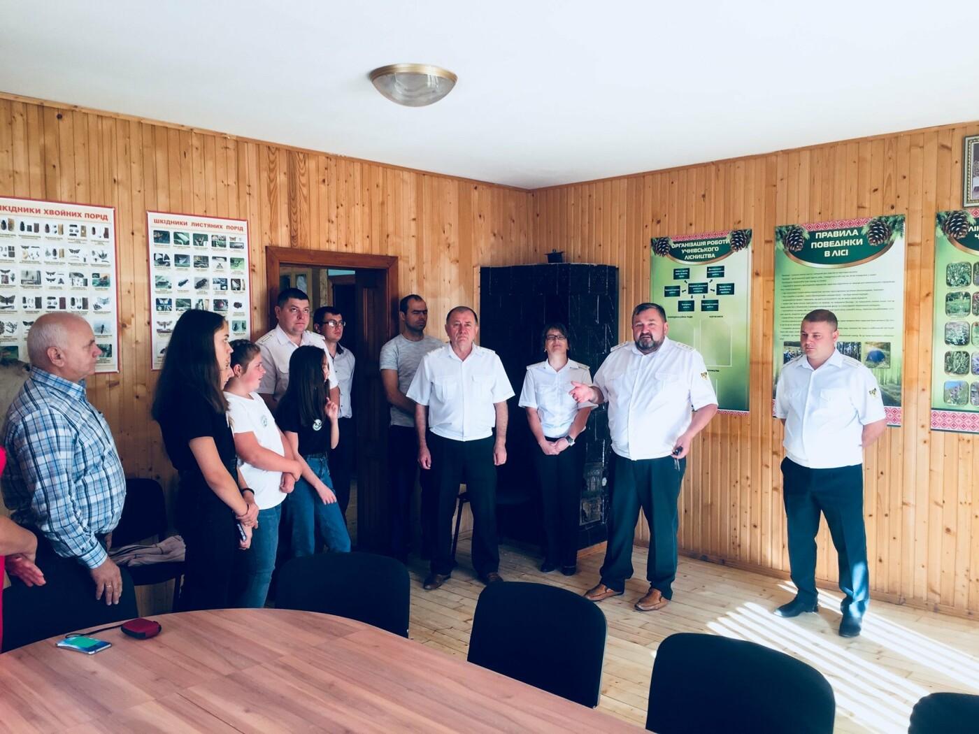На Прикарпатті урочисто відкрили шкільне лісництво (ФОТО), фото-5