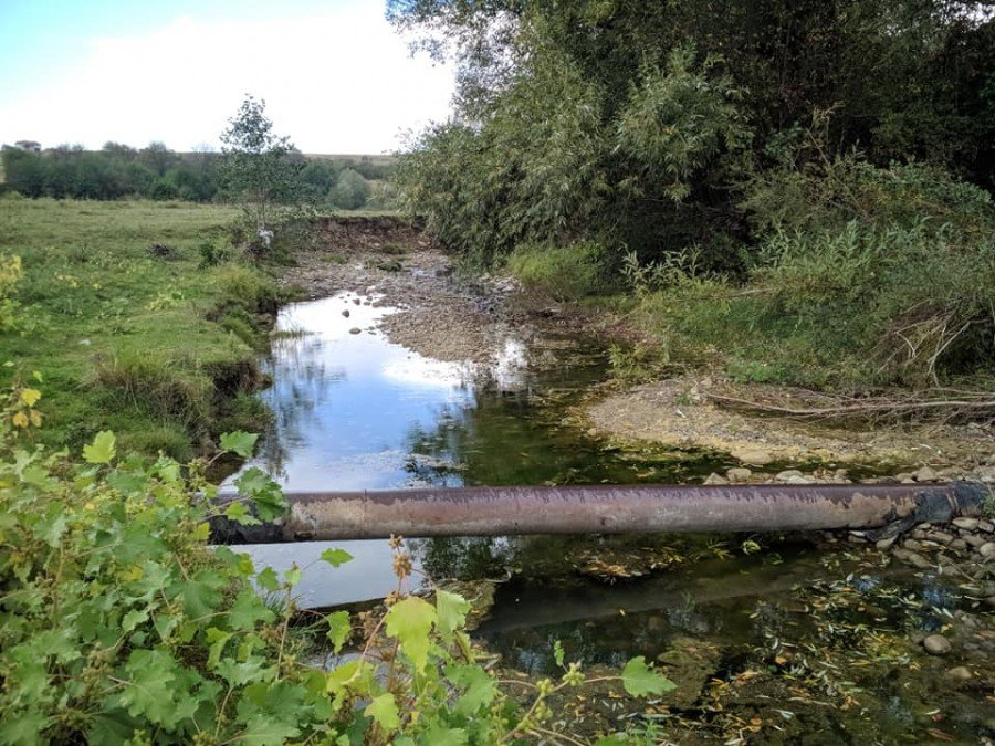 На Калущині пересихає річка Бережничка (фото), фото-1