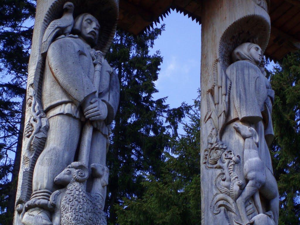Одну з найвідоміших скульптур Карпат знищують туристи бажаючи повернутись сюди знову, фото-3