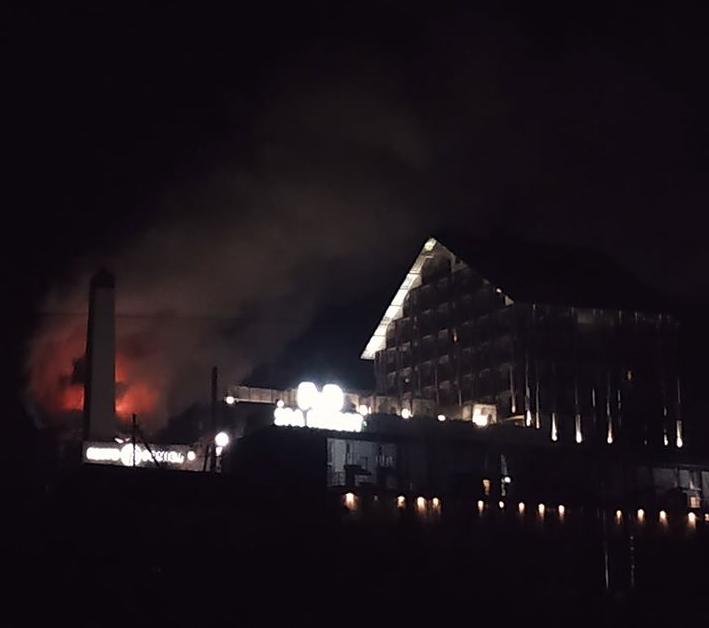 На Буковелі загорівся ресторан Фомич, фото-1