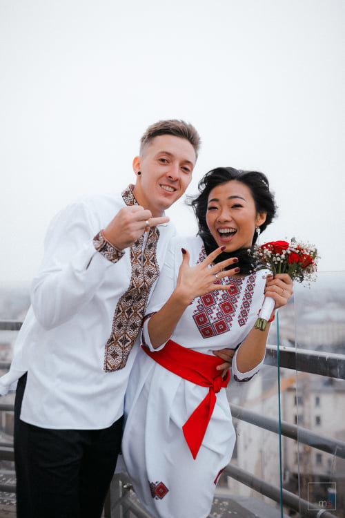 Українсько-китайська пара одружилась в Івано-Франківську  , фото-2