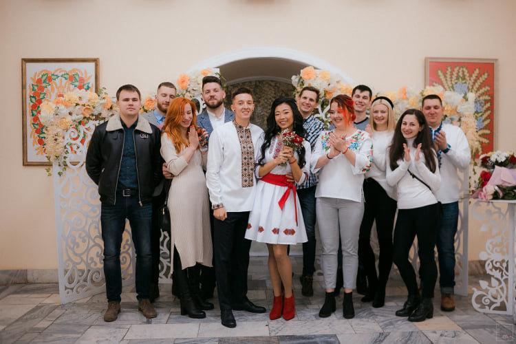 Українсько-китайська пара одружилась в Івано-Франківську  , фото-3