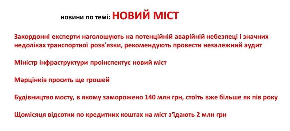 Вартість проєкту моста на Пасічну завищена, не відповідає безпеці руху, заморожено 140 млн грн кредитних коштів, фото-1