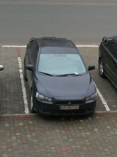 У Бурштині вночі викрали автомобіль Mitsubishi Lancer X (фото), фото-1