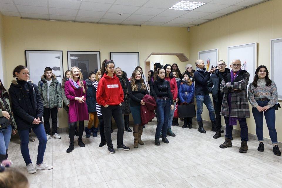 В Івано-Франківську відкрилася виставка художника Євгена Григор'єва, фото-1