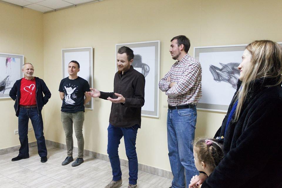 В Івано-Франківську відкрилася виставка художника Євгена Григор'єва, фото-2