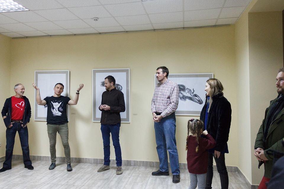 В Івано-Франківську відкрилася виставка художника Євгена Григор'єва, фото-3