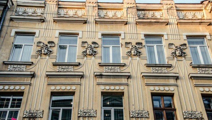 Кам'яні обличчя Франківська. Химери, рицарі, маскарони, що оберігають фасади історичних будівель , фото-1