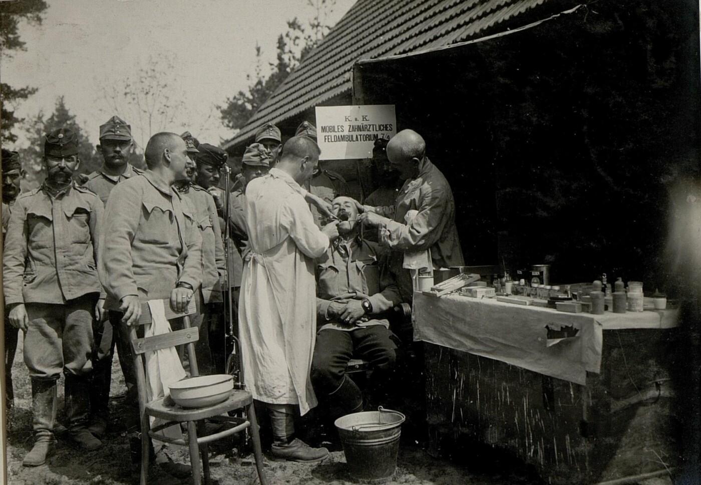 Історія краю. Стоматологія на Галичині 100 років тому: безцінна колекція фотографій, фото-1