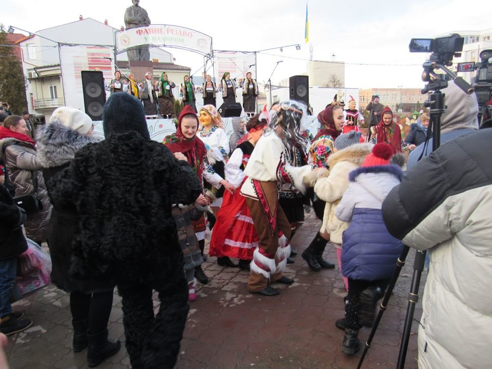 «Вашківецька Маланка» у Надвірній, фото-3