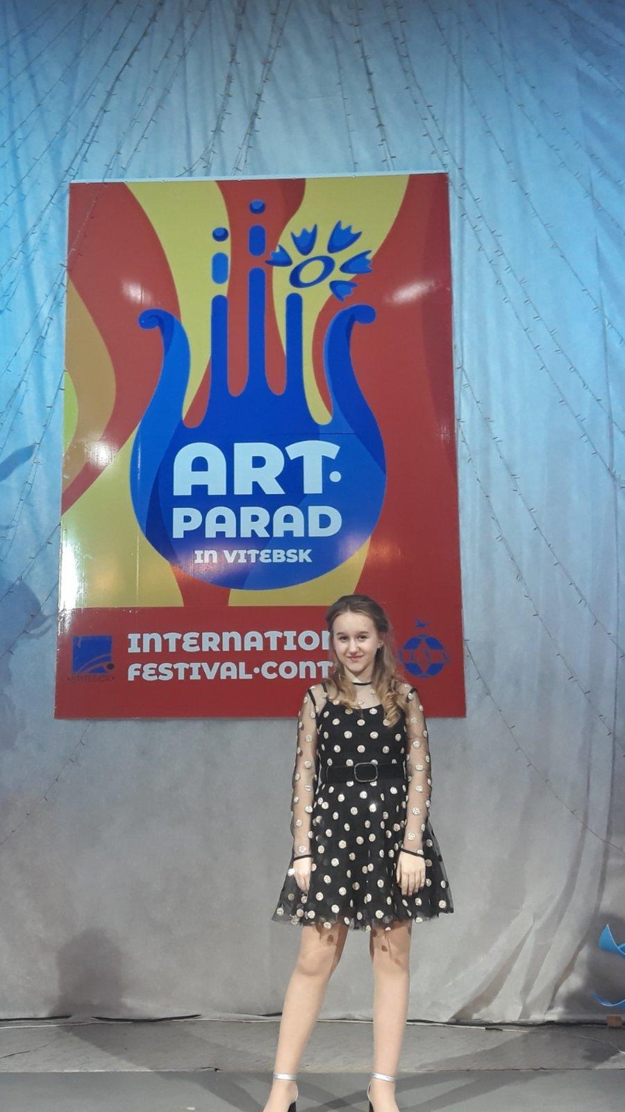 Юна франківка перемогла у міжнародному фестивалі «Арт-парад у Вітебську», фото-3