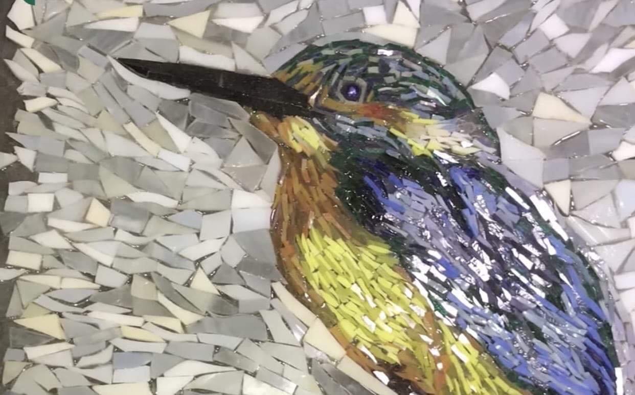 Коломиянин створює картини з вітражного скла (ФОТО), фото-1